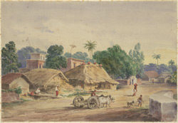View of Circular Road, Calcutta